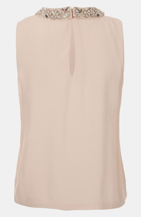 Alternate Image 2  - Topshop Embellished Collar Top