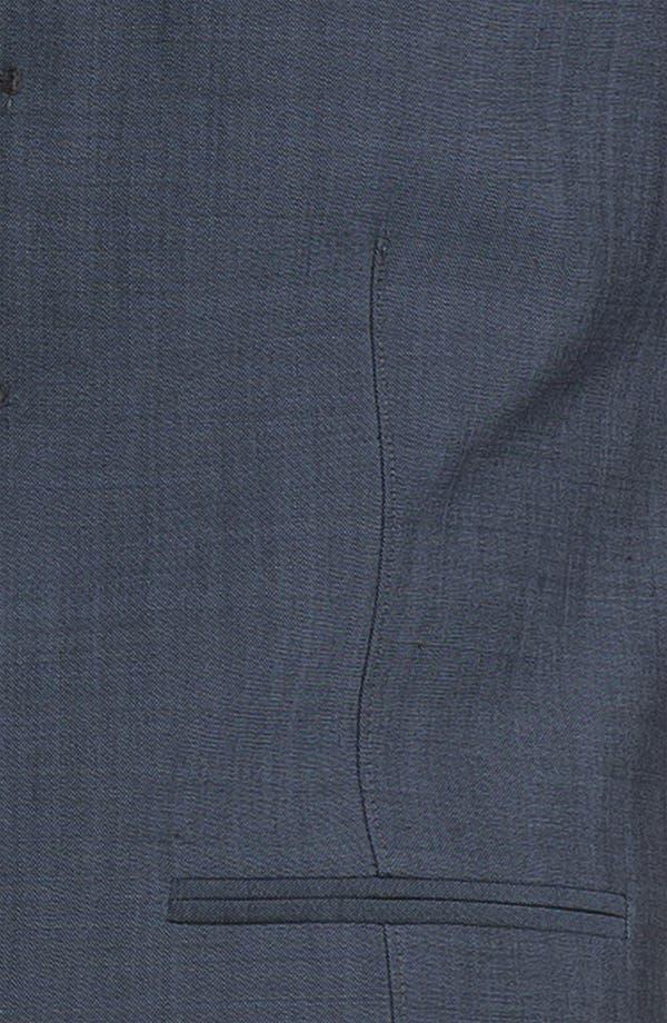 Alternate Image 3  - Topman Skinny Wool Blend Waistcoat