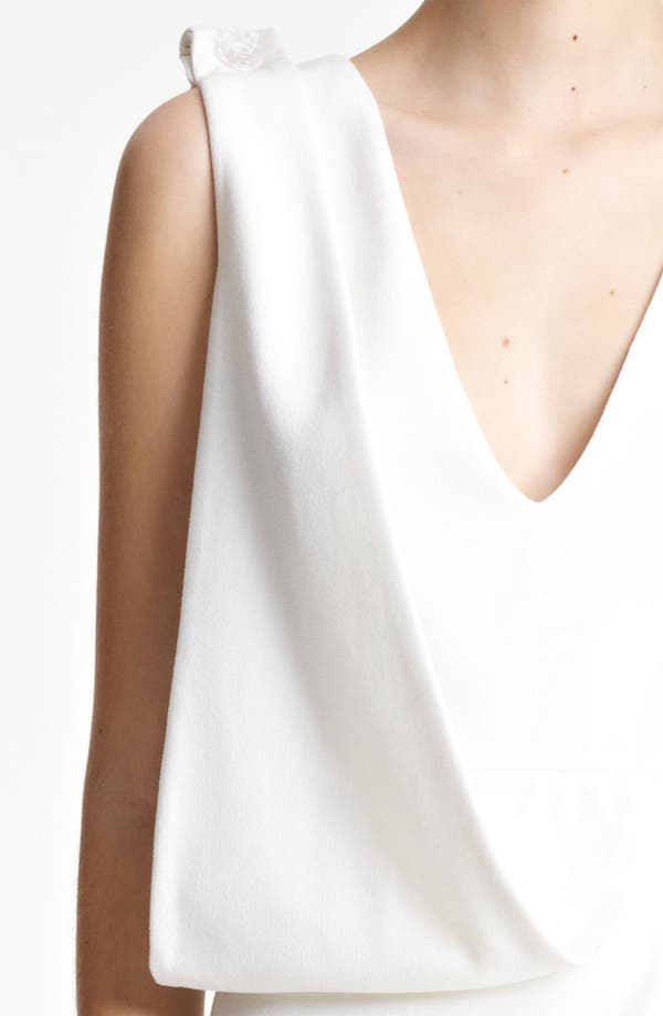 Alternate Image 3  - Christopher Kane Asymmetrical Drape Crepe Dress
