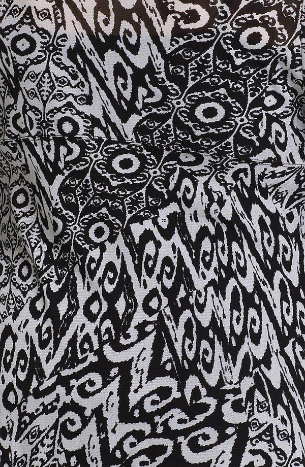 Alternate Image 3  - Karen Kane Print Handkerchief Top (Plus)
