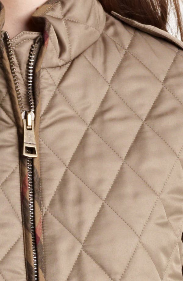 Alternate Image 3  - Burberry Brit Zip Quilted Jacket