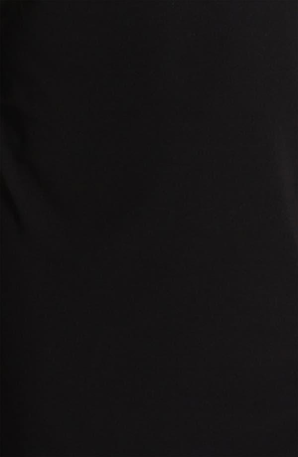 Alternate Image 3  - Alex Evenings Chiffon Detail Jersey Shift Dress