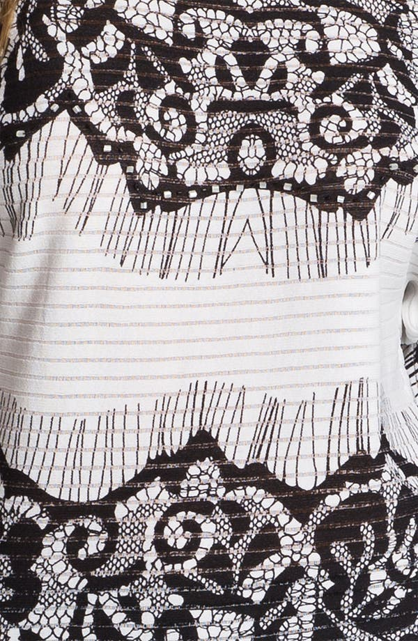 Alternate Image 3  - Alberto Makali Lace Print Top