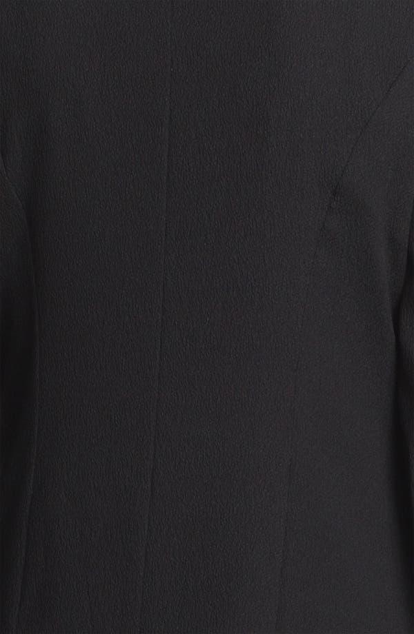 Alternate Image 5  - Tracy Reese Layered Lapel Stretch Crepe Jacket