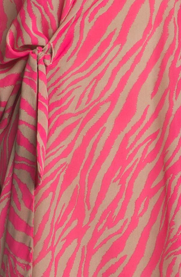 Alternate Image 4  - Abi Ferrin 'Greta' Convertible Print Chiffon Dress