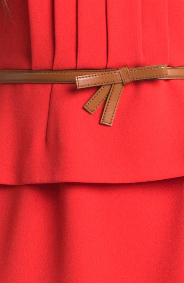 Alternate Image 3  - Tahari Belted Peplum Sheath Dress