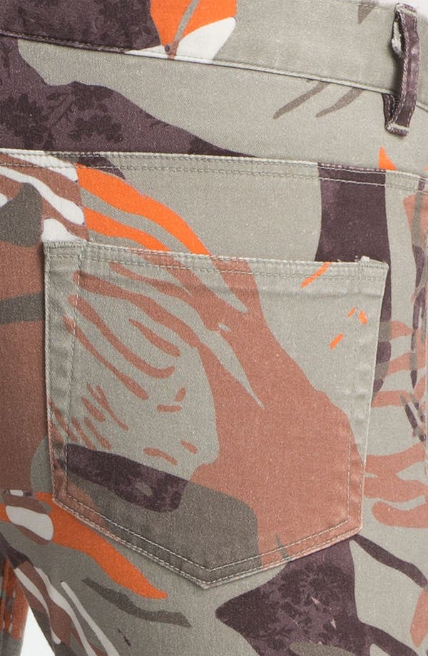 Alternate Image 3  - Edun 'Zimbabwe' Floral Print Skinny Stretch Jeans