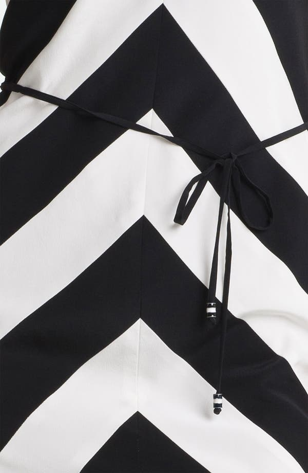 Alternate Image 3  - Trina Turk 'Rally' Stripe Silk Dress