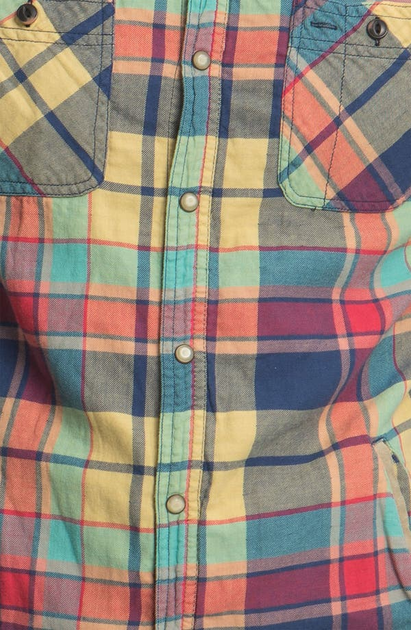 Alternate Image 3  - Scotch & Soda Snap Flannel Shirt