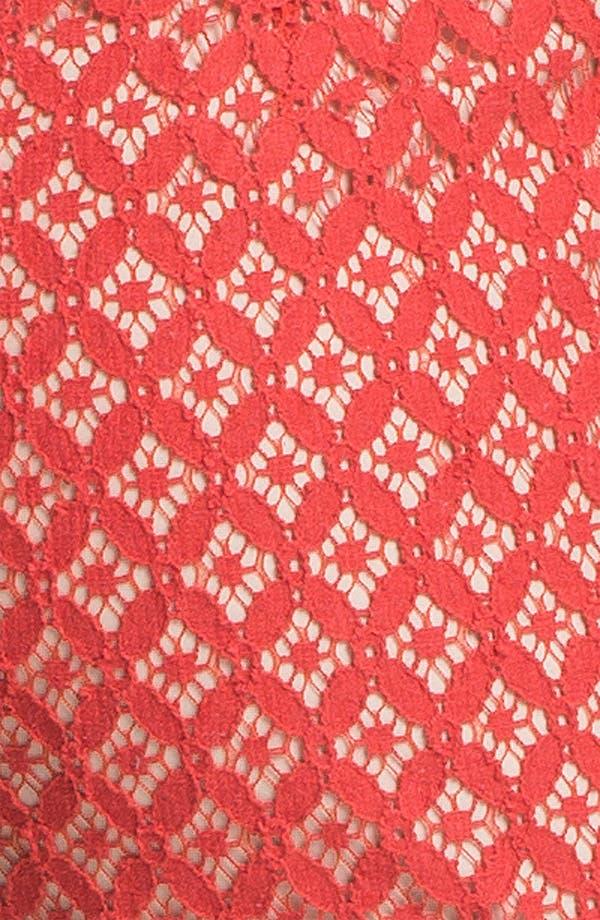 Alternate Image 5  - Kensie 'Geo Lace' Shorts