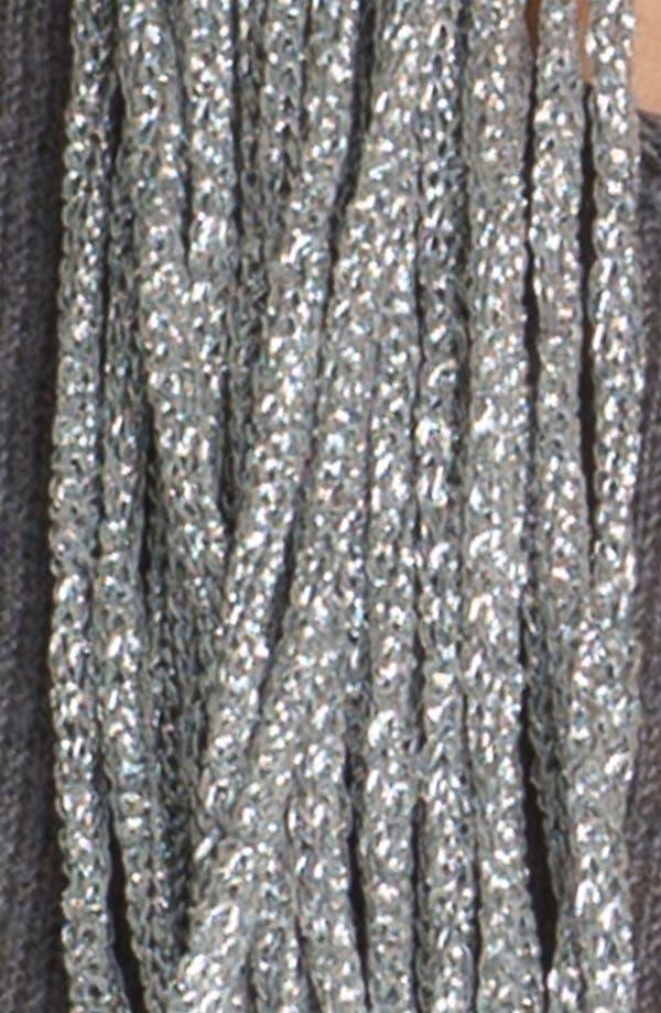 Alternate Image 3  - Eileen Fisher Metallic Scarf