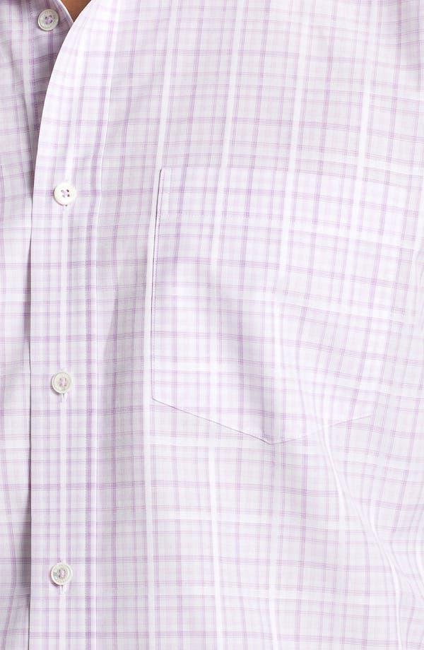 Alternate Image 4  - BUGATCHI Classic Fit Sport Shirt