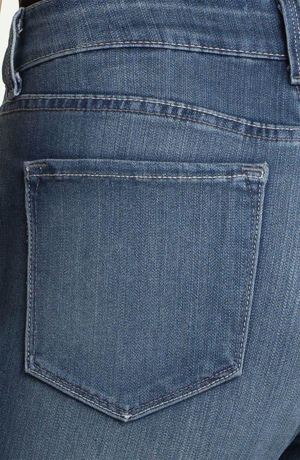 Alternate Image 3  - NYDJ 'Alina' Stretch Skinny Jeans (Petite)