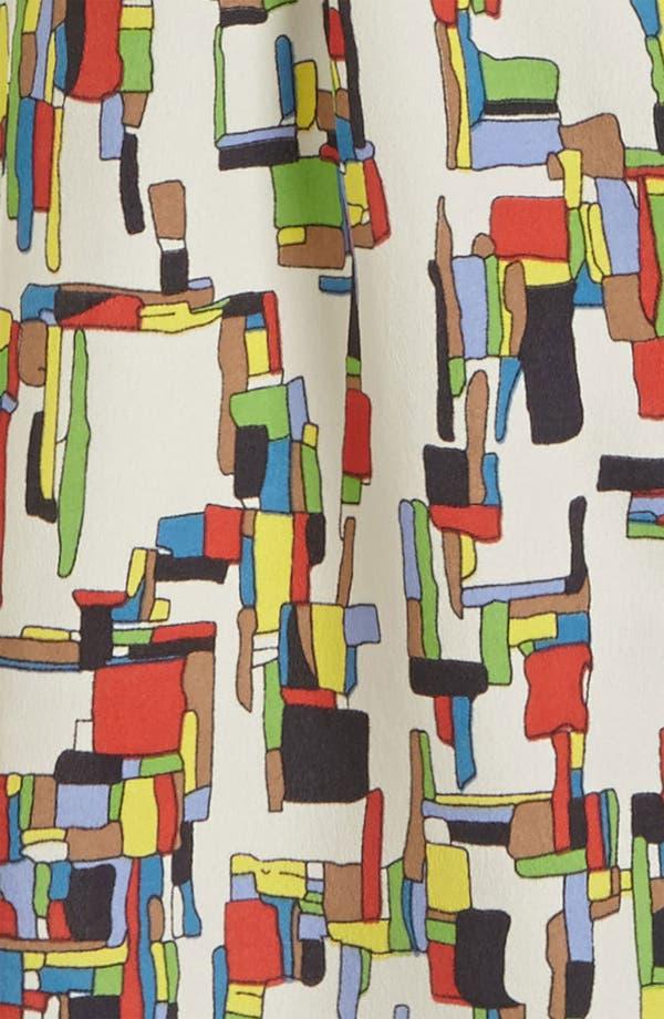 Alternate Image 2  - I.Madeline Zip Front Print Dress