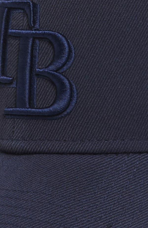 Alternate Image 3  - New Era Cap 'Tampa Bay Rays - Tonal Classic' Fitted Baseball Cap