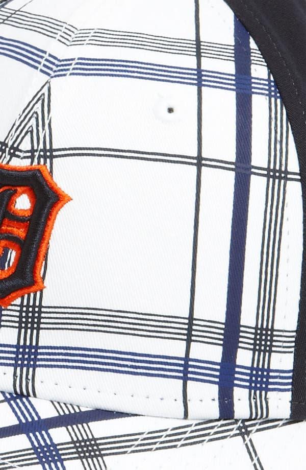 Alternate Image 3  - New Era Cap 'Detroit Tigers - Plaidtastic' Fitted Baseball Cap