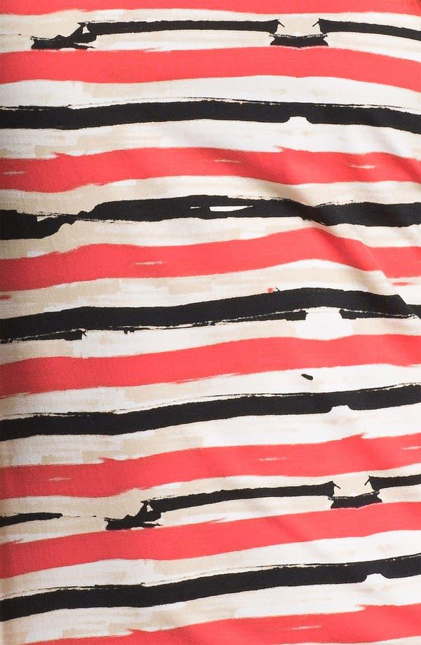 Alternate Image 3  - Lafayette 148 New York Crisscross Back Stripe Tee