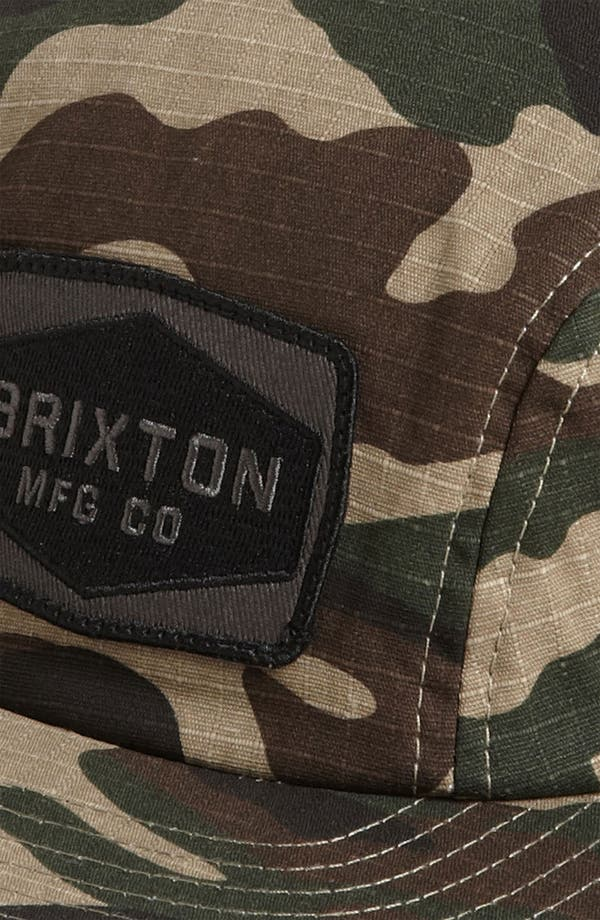 Alternate Image 2  - Brixton 'Mill' Canvas Cap