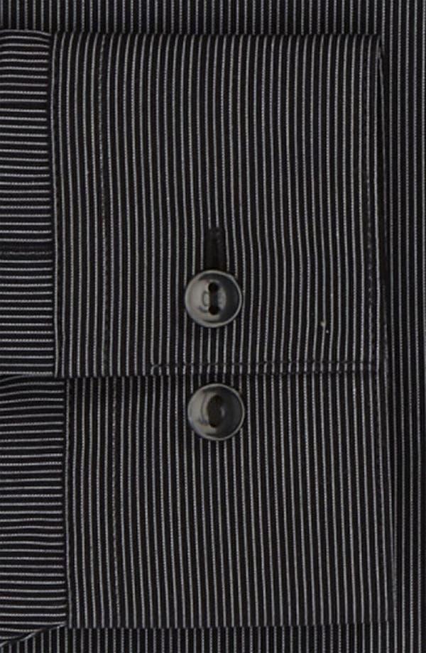 Alternate Image 2  - Calvin Klein 'Como Stripe' Slim Fit Dress Shirt