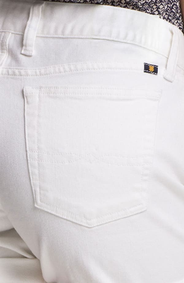 Alternate Image 3  - Lucky Brand 'Abbey' Double Roll Denim Shorts (Pearl) (Online Exclusive)