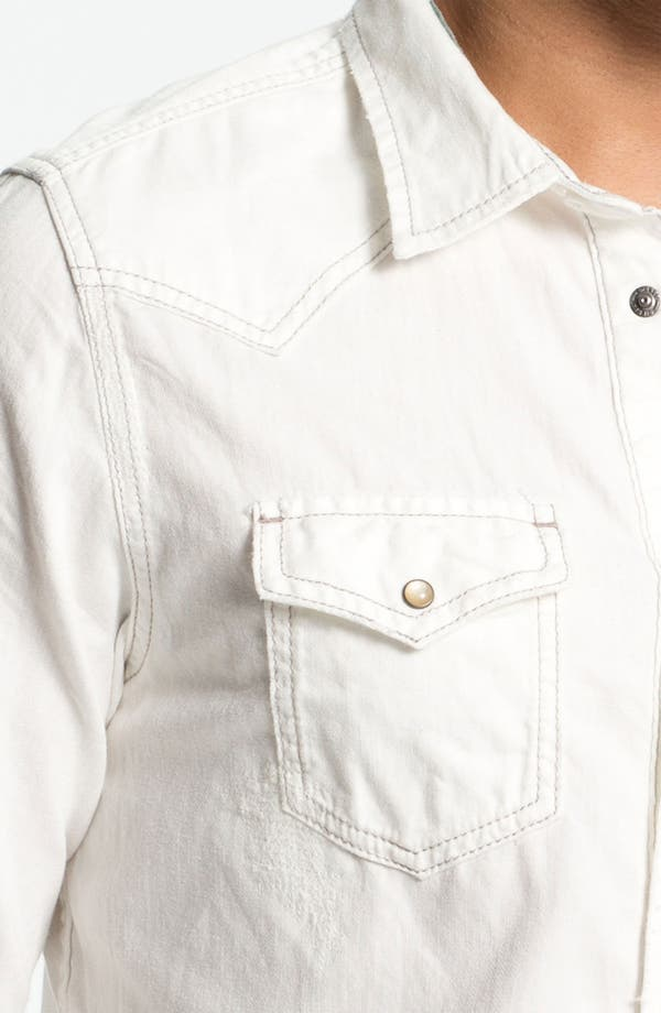 Alternate Image 3  - DIESEL® 'Sonora' White Denim Western Shirt