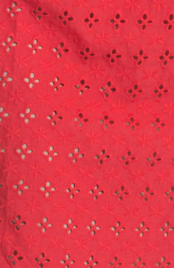 Alternate Image 3  - Donna Ricco Cotton Eyelet Dress