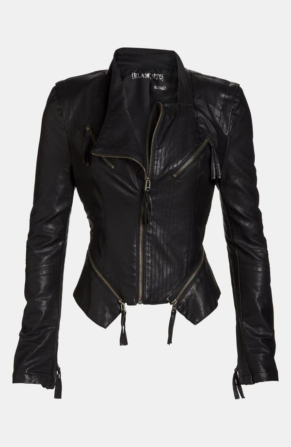 Alternate Image 1 Selected - BLANKNYC Faux Leather Jacket