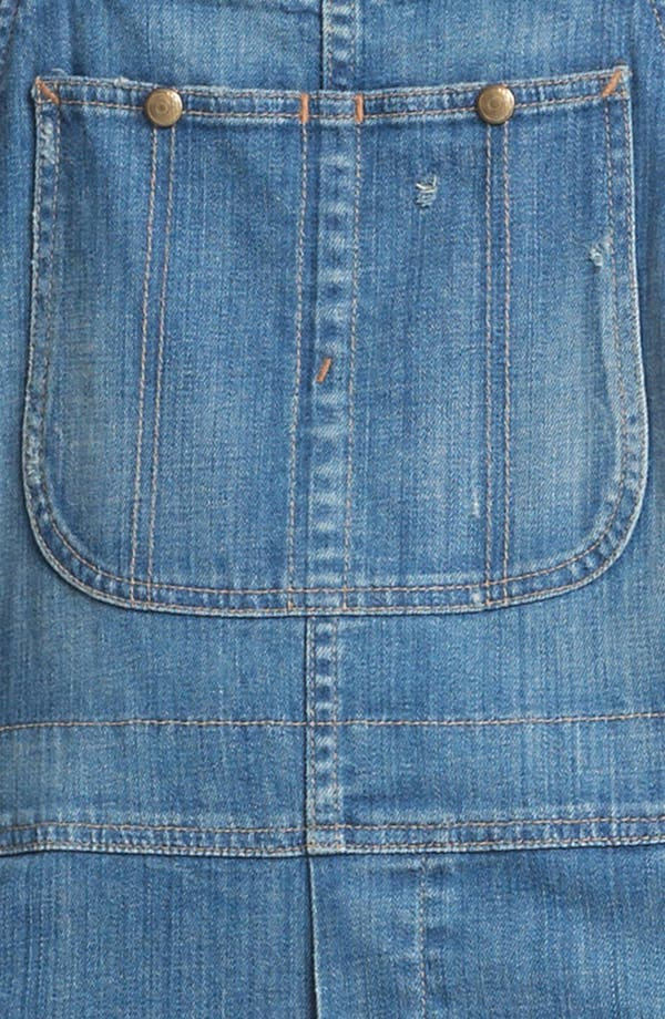 Alternate Image 3  - Citizens of Humanity 'Quincy' Stretch Denim Overalls (County)