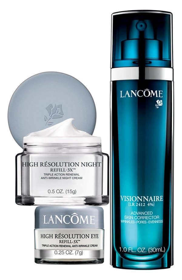 Alternate Image 1 Selected - Lancôme 'Visionnaire & High Résolution Refill-3X™' Discovery Set ($137 Value)
