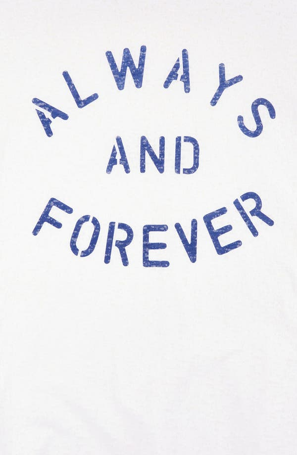 Alternate Image 3  - Topshop 'Always & Forever' Burnout Maternity Tee