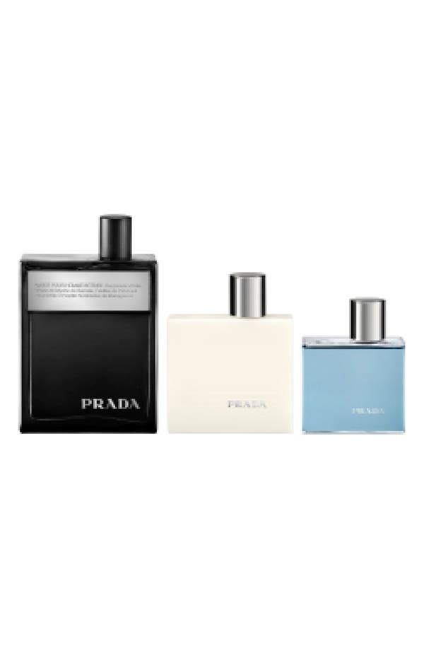 Alternate Image 1 Selected - Prada 'Amber pour Homme Intense' Fragrance Set ($144 Value)