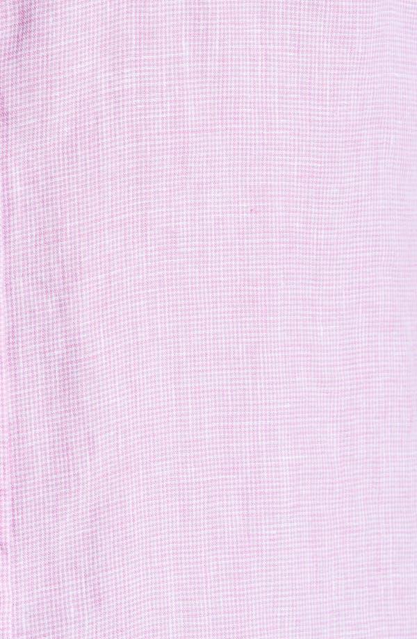 Alternate Image 3  - Toscano Linen Sport Shirt