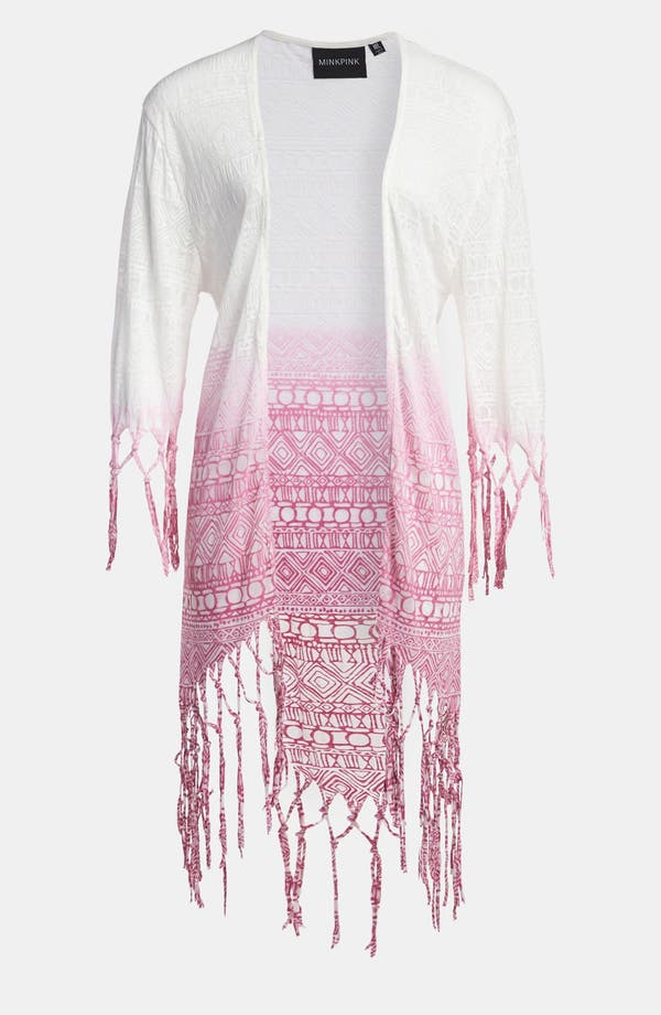 Alternate Image 1 Selected - MINKPINK 'Sonic Warrior' Fringe Cape