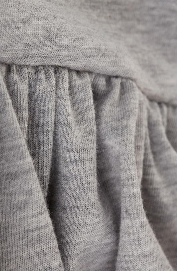 Alternate Image 3  - Topshop Raglan Sleeve Skater Dress (Petite)