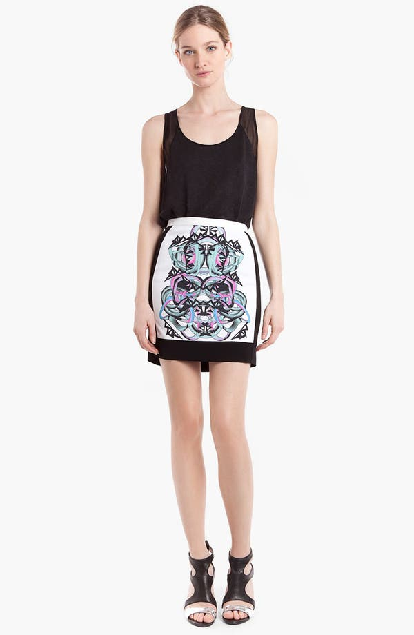 Main Image - sandro 'Java' Graphic Skirt