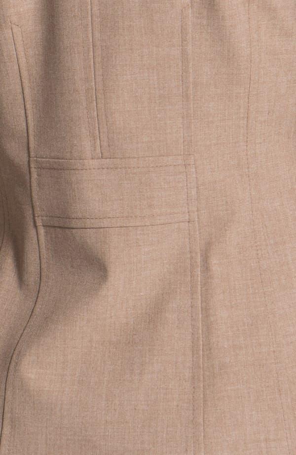 Alternate Image 3  - Halogen® Three Button Jacket (Petite)