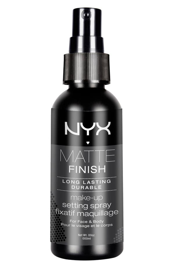Alternate Image 1 Selected - NYX 'Matte Finish' Makeup Setting Spray