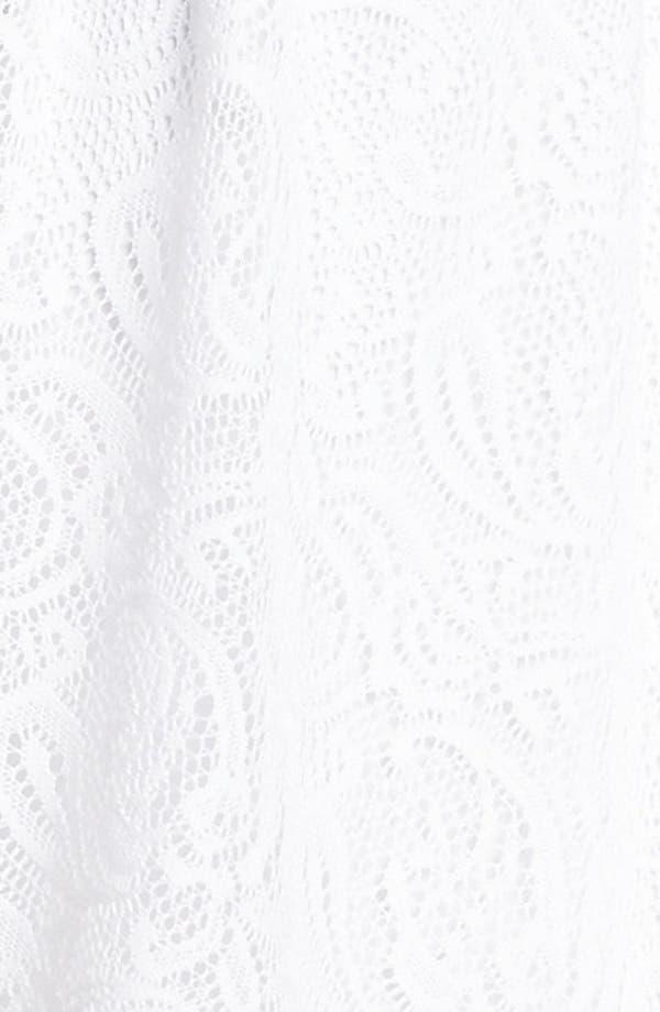 Alternate Image 3  - Trixxi Strapless Lace Skater Dress (Juniors)