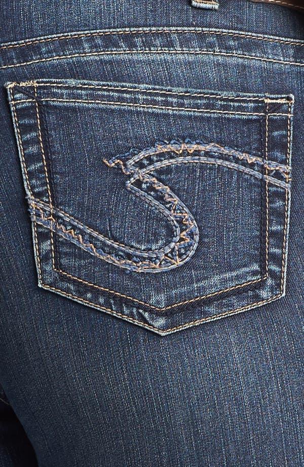 Alternate Image 3  - Silver Jeans Co. 'Suki' Bootcut Jeans (Juniors Plus)