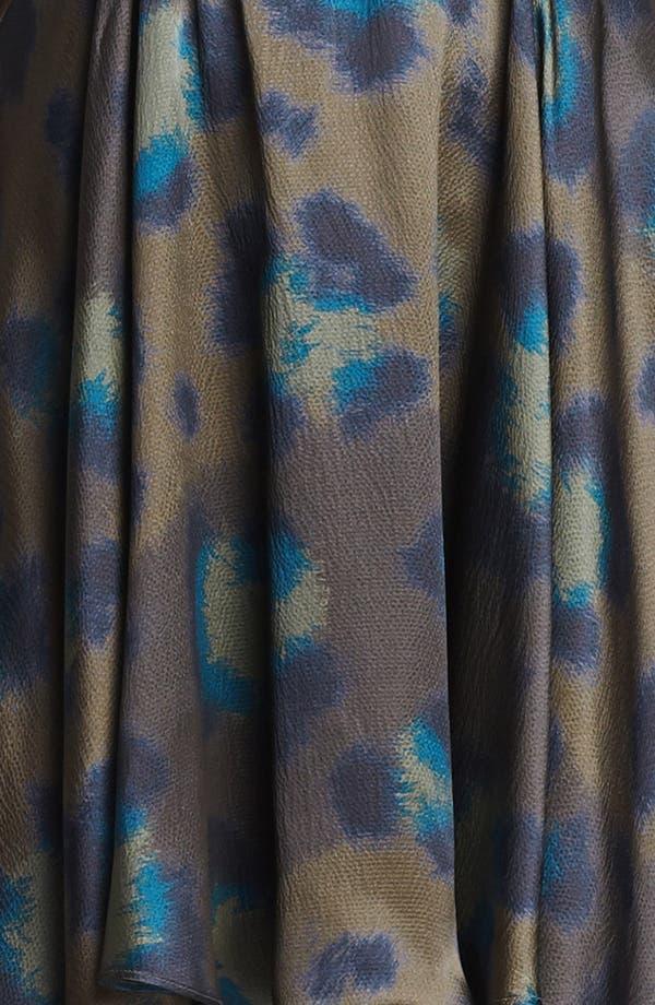 Alternate Image 3  - KENZO Twist Neck Leopard Print Dress