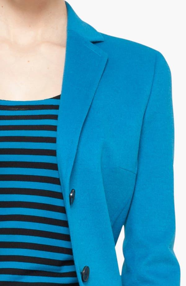 Alternate Image 5  - Akris punto Wool Blend Two Button Blazer