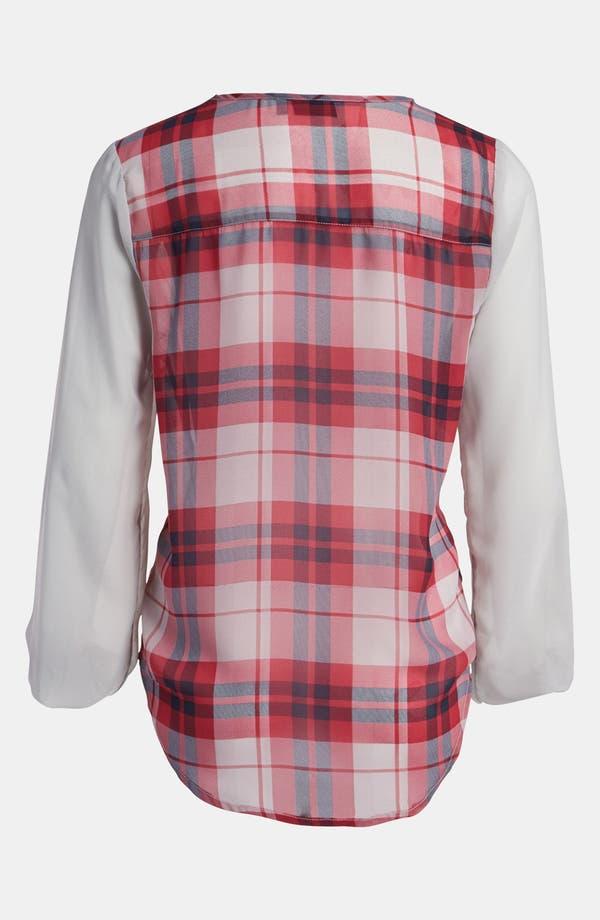 Alternate Image 2  - Tildon Sheer Sleeve Blouse