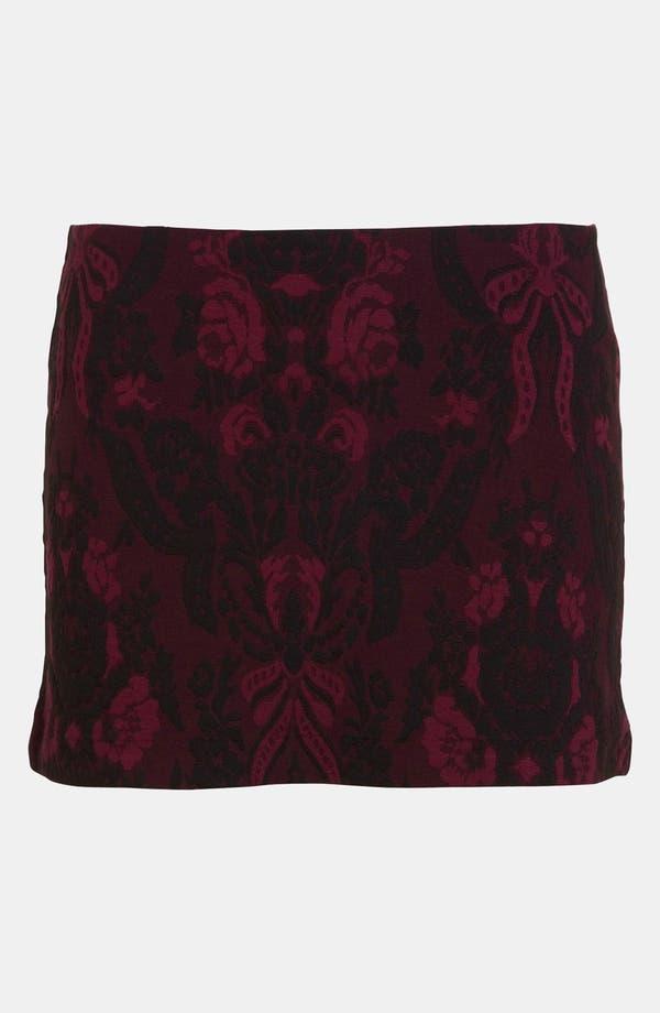 Main Image - Tildon Tapestry Miniskirt
