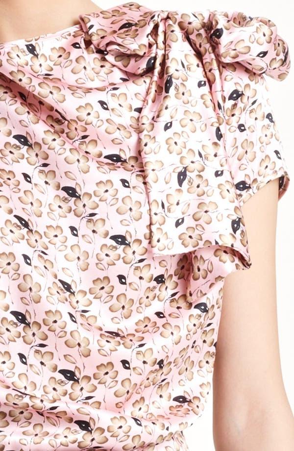 Alternate Image 3  - Nina Ricci Floral Print & Jersey Dress