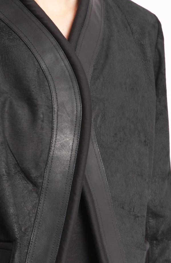 Alternate Image 3  - Rick Owens Blistered Lambskin Leather Jacket