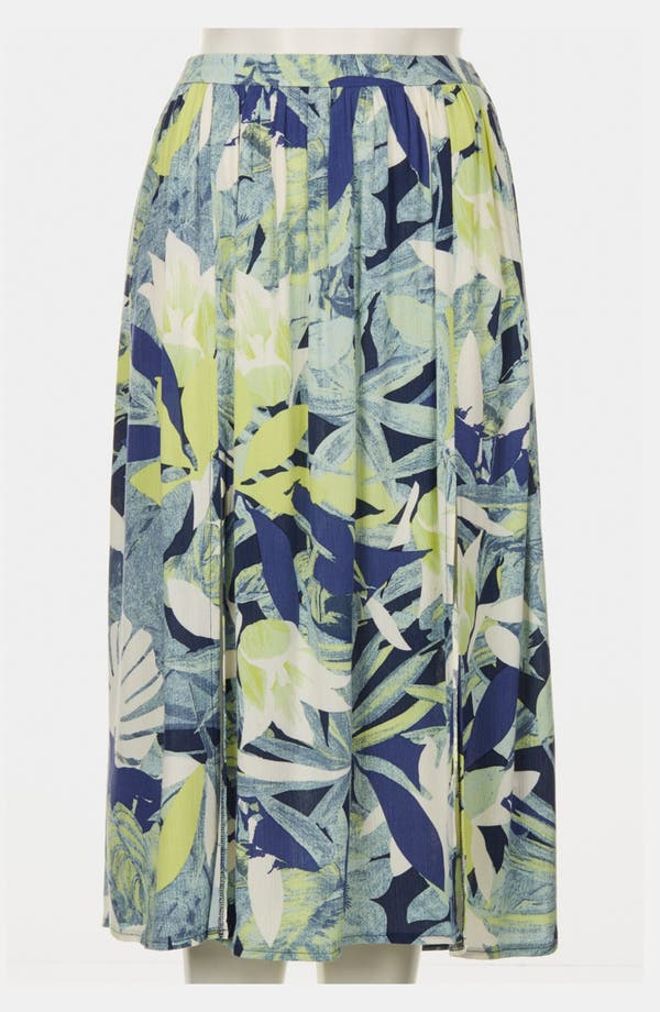 Alternate Image 3  - Topshop 'Crayon Forest' Midi Skirt