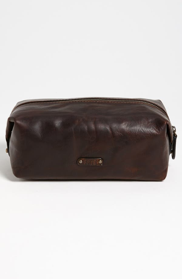 Alternate Image 3  - Frye 'Logan' Leather Travel Kit