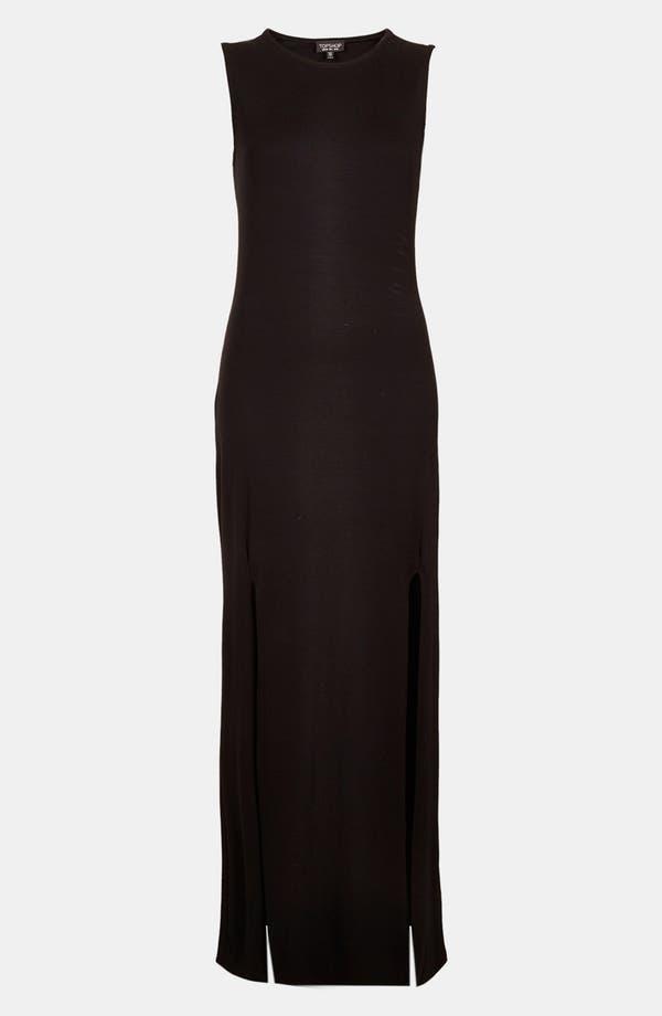 Alternate Image 3  - Topshop Double Split Maxi Dress