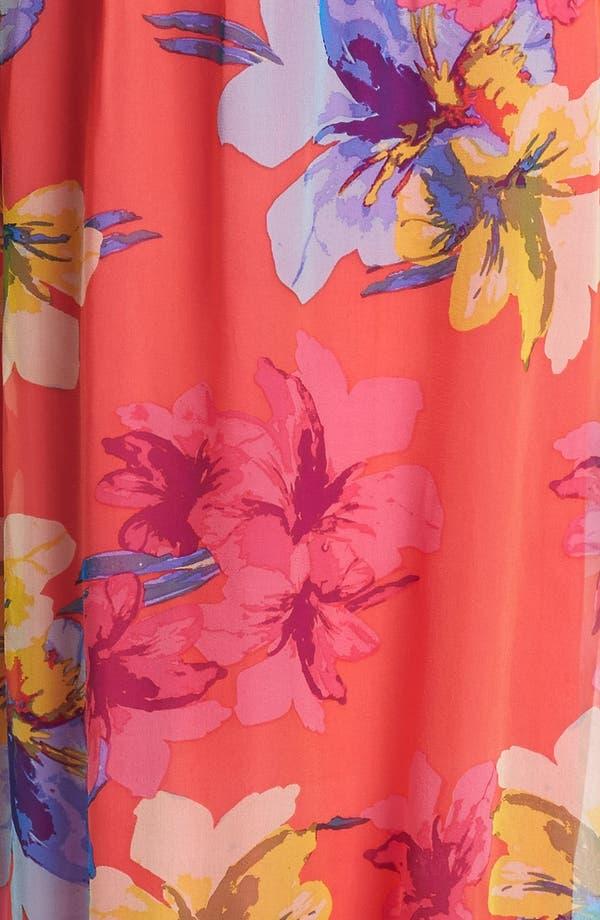 Alternate Image 3  - Ella Moss Print Silk Maxi Dress