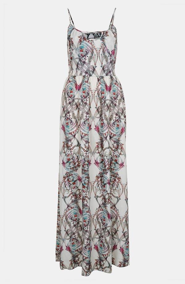 Alternate Image 3  - Topshop 'Marker Paisley' Print Maxi Dress